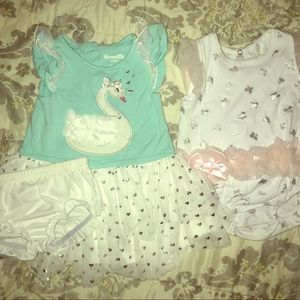 3/$15 Baby Girl dress romper clothes 3-6mo